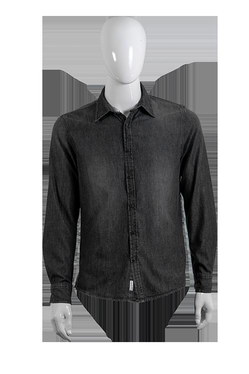 Camicia Grigia Denim