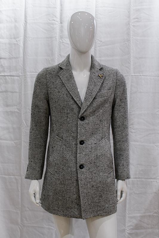 Cappotto grigio misterman