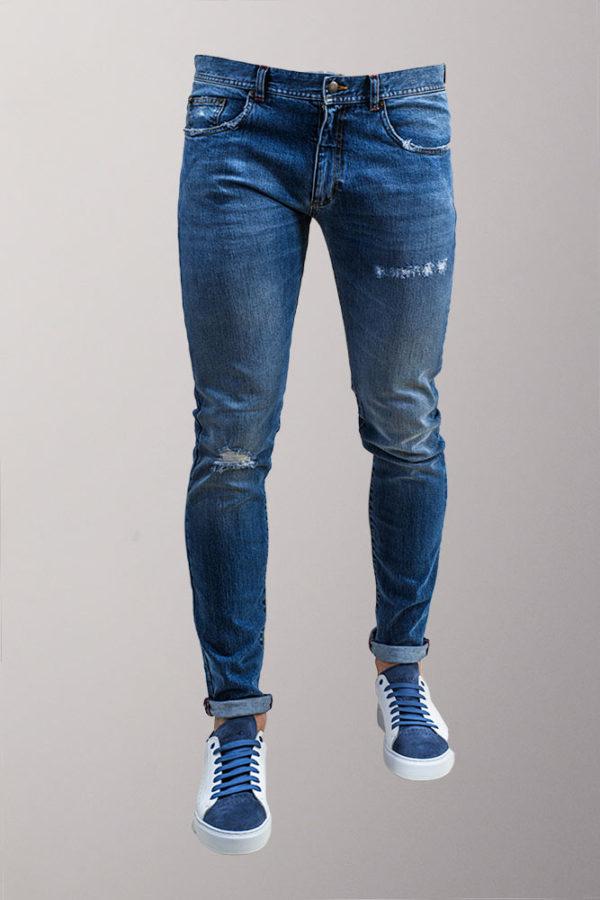 jeans uomo blu chiaro