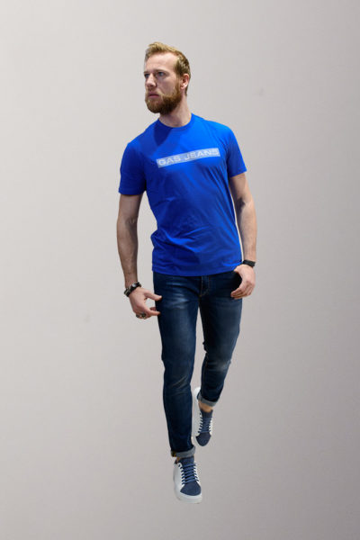 t-shirt uomo gas