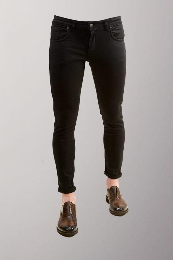 jeans casual nero