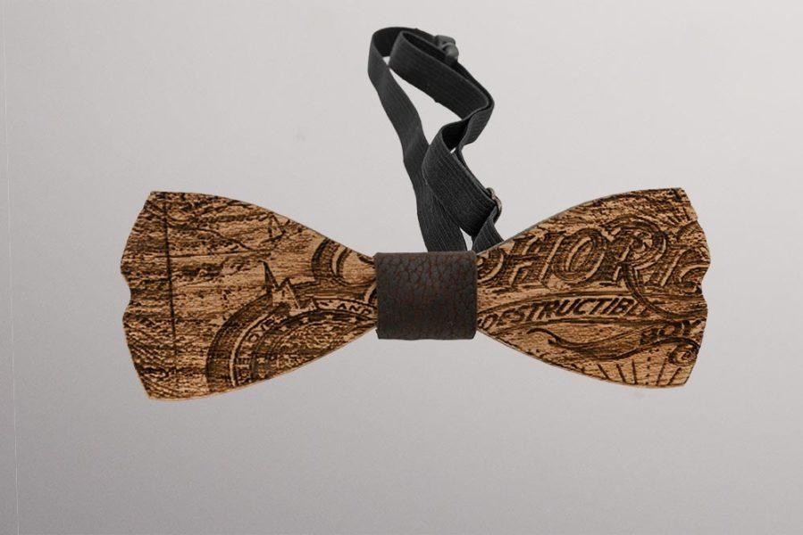accessori uomo | papillon legno