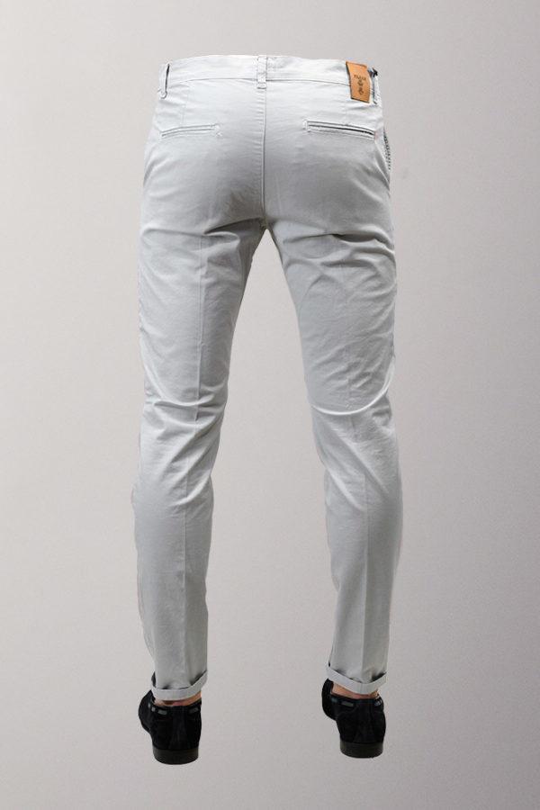 pantalone chino slim fit