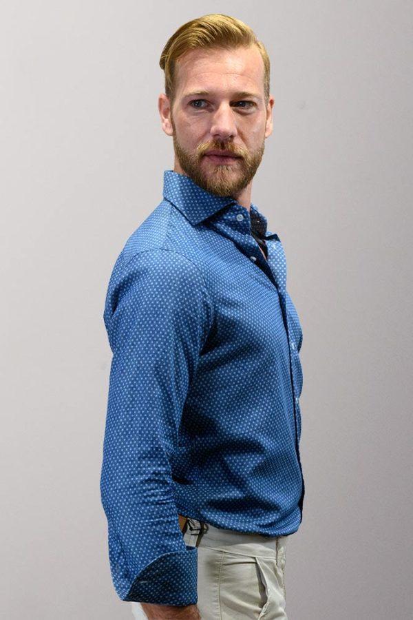 abito spezzato uomo giacca blu