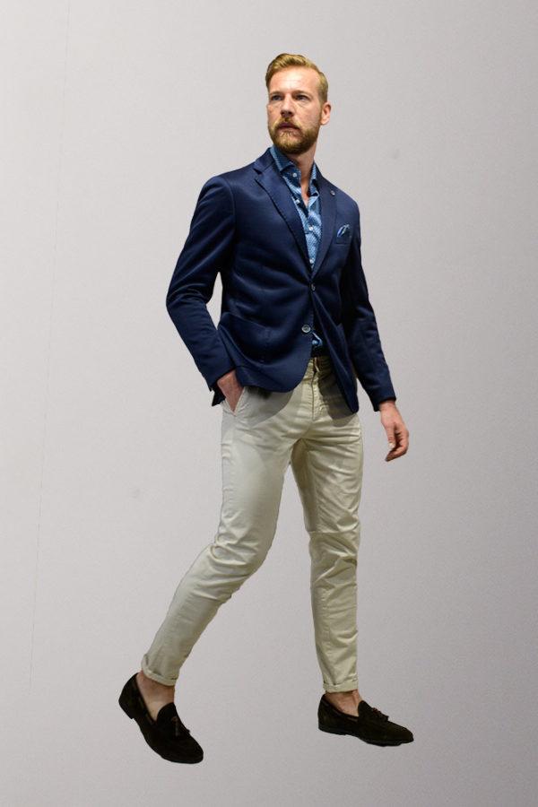 accorciare lunghezza giacca uomo